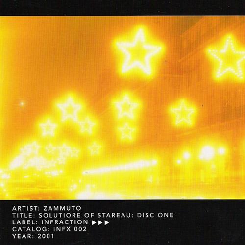 Zammuto - Solutiore of Stareau: Disc One