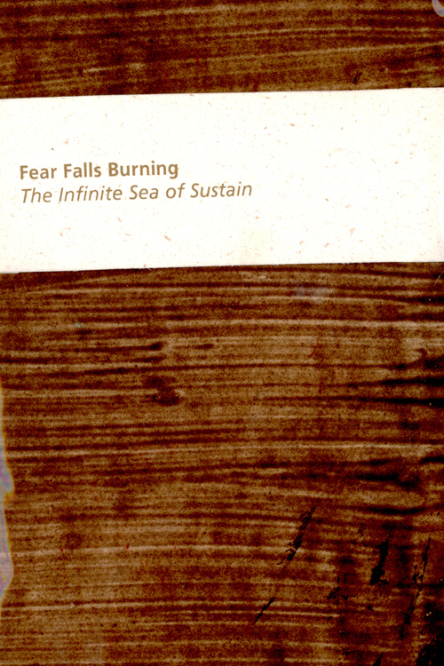 Fear Falls Burning - The Infinite Sea of Sustain (DVD, audio only)