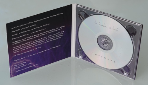 Numina - The Deception of Reality - Digipak Interior