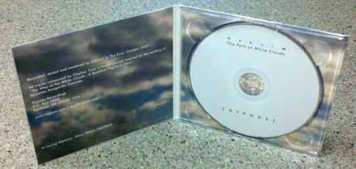 Nebulae - Path of White Clouds - Digipak Interior